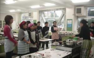 親子韓国家庭料理教室