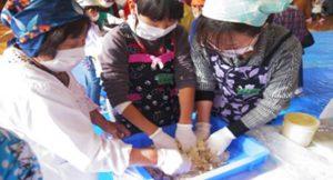 親子・地域・ふれあいみそ作り体験「南片江っ子・わんぱく手作り味噌」(南片江小学校PTA)