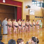 お相撲集会(南福岡特別支援学校PTA)