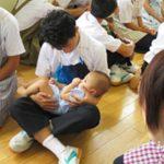 赤ちゃん抱っこ~いのちのぬくもりから学ぶこと~(城西中学校PTA)
